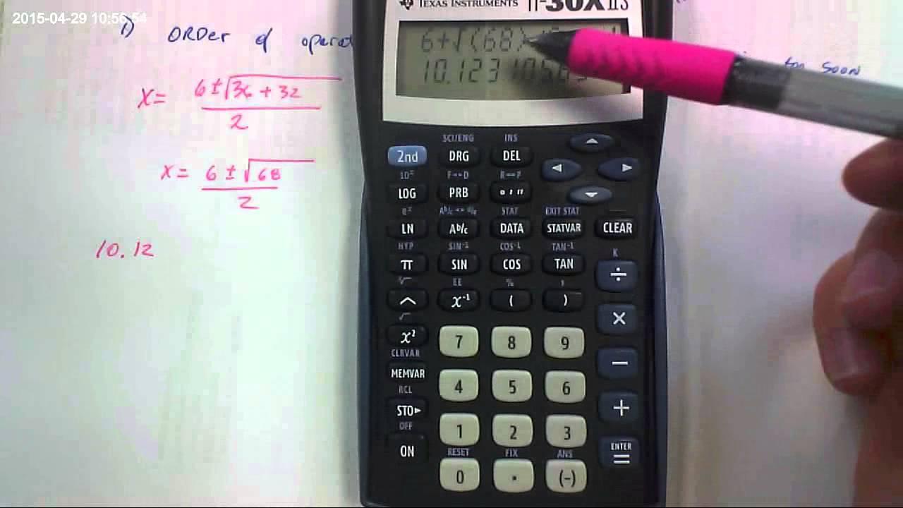 quadratic formula calculator Quadratic functions activities for algebra 1 students on a ti-84 plus ce graphing calculator.