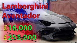 Father and son build Lamborghini Aventador using 3D printer