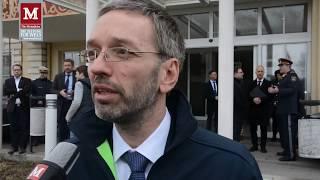 Innenminister Herbert Kickl (FPÖ) zur Polizeischule in Wels