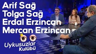 Arif Sağ - Tolga Sağ - Erdal Erzincan - Mercan Erzincan - Okan Bayülgen ile Uykusuzlar Kulübü 1.Masa