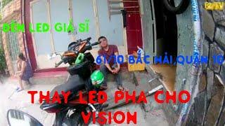Đèn led cho xe máy vision