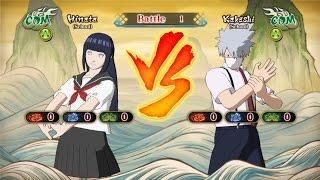 School Uniform - Naruto, Sasuke, Sakura, Hinata, Ino, Kakashi | Naruto Shippūden: Ultimate Ninja ...