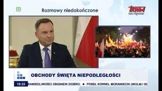 Rozmowy niedokończone z udziałem prezydenta RP Andrzeja Dudy