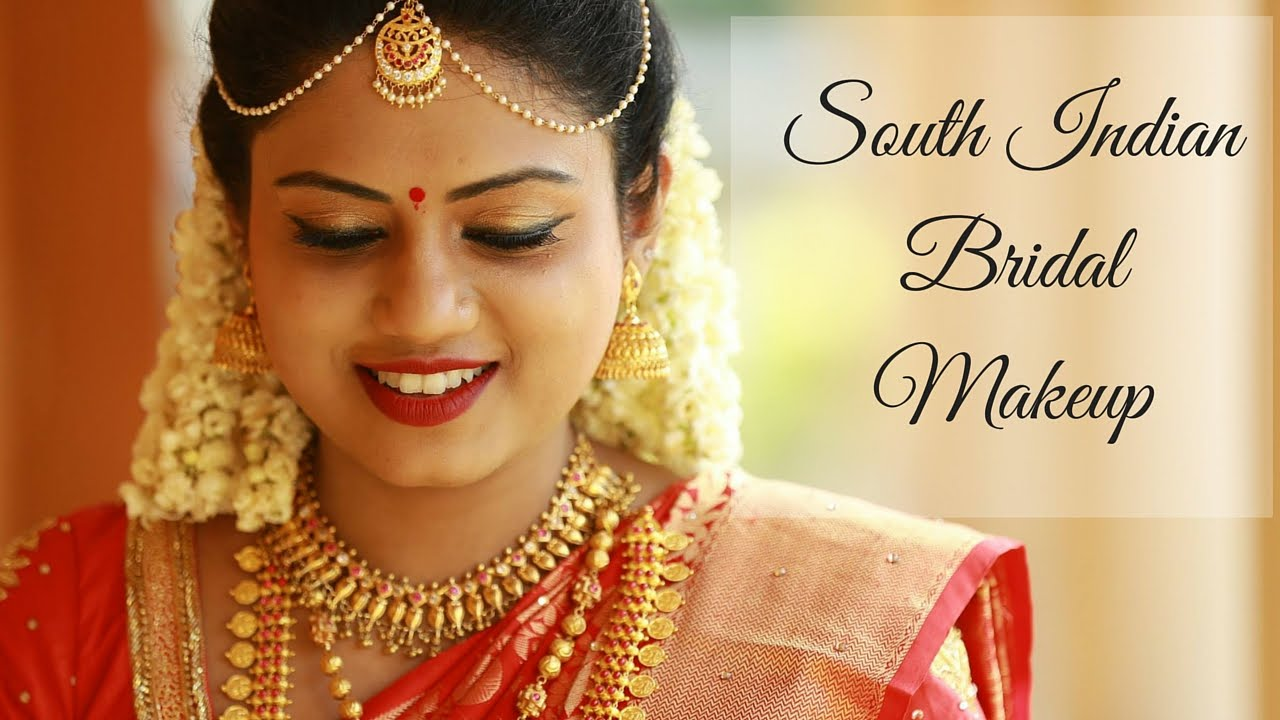 south indian bridal makeup tutorial | ria rajendran