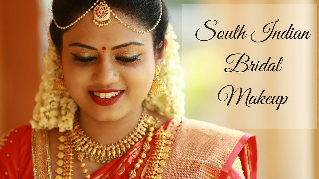 south indian bridal makeup tutorial | ria rajendran