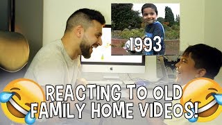 MISTAH ISLAH | REACTING TO OLD FAMILY HOME VIDEOS!!
