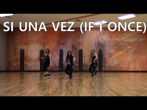 "ZUMBA WITH CAT ""Si Una Vez (If I Once)"" by Play-N-Skillz"