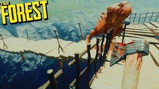 GORDO RETURNS!!! + FORTIFICANDO LA CASA DEL ABISMO- THE FOREST #119 | Gameplay Español