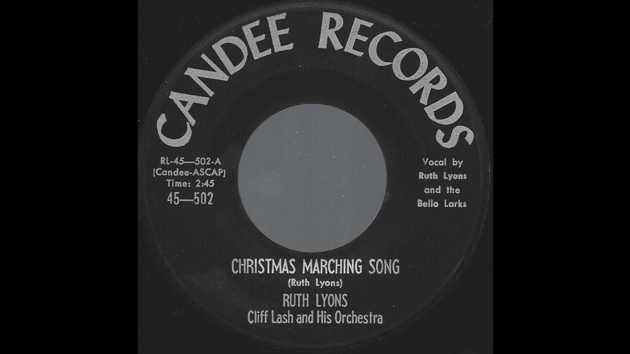 Ruth Lyons - Christmas Marching Song - \'58 X-mas Pop Novelty on ...