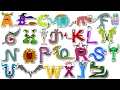 Scary ABC   Halloween ABC   Learning Halloween Alphabets   Halloween Videos For Kids