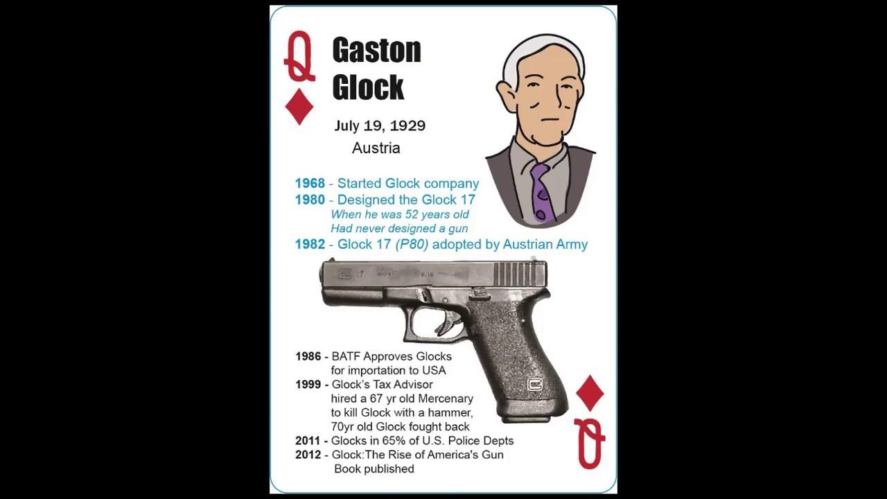 Gaston Glock - Austrian 9mm Firearm Inventor - YouTube