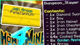 H4M'S NEW 24 HOUR DUNGEON 💀 - How To Minecraft S4 #67
