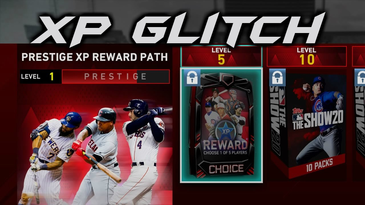 Patched Mlb 20 Xp Glitch New Fastest Way To Earn Xp And Inning Stars Diamond Dynasty Xp Stars Youtube