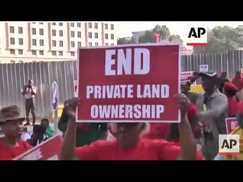 South Africa - EFF party supporters rally in Johannesburg  | Editor's Pick | 27 Oct 15