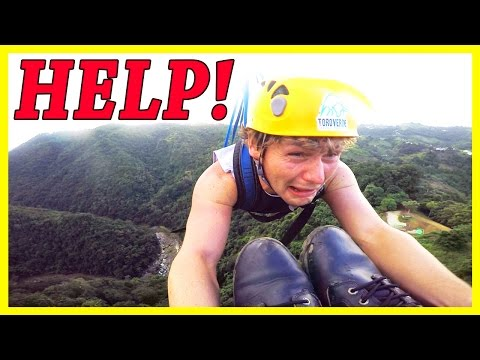 Got Stuck On The World's Longest Zipline