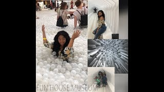 THE FUN HOUSE MUSEUM VLOG + KIKI CHALLENGE | Living Prosperity |