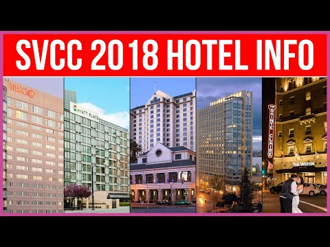 Silicon Valley Comic Con Hotel Info - San Jose, CA - SVCC 2018