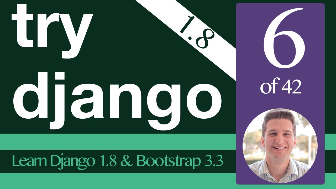 Try django 1. 8 tutorial 5 of 42 apps learn django youtube.