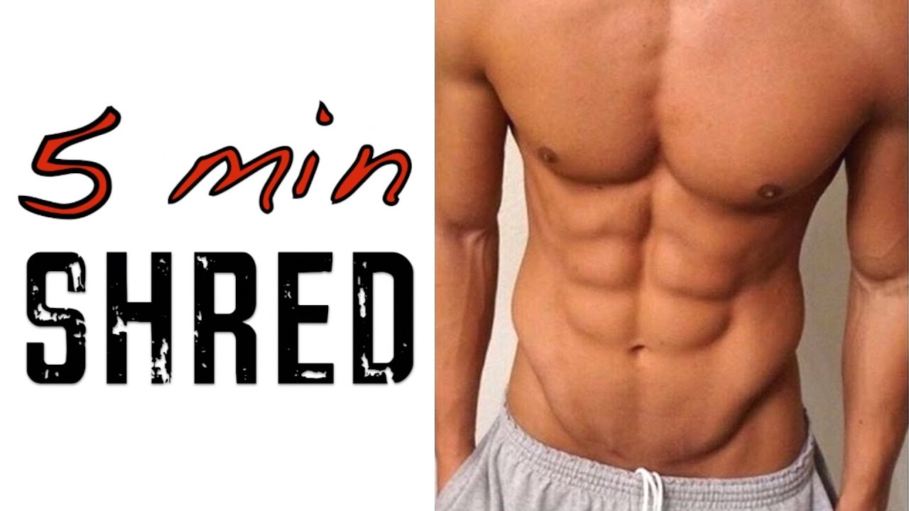 Get Shredded Abs Obliques In 5 Minutes Best V Cut Plank