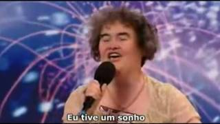 "Susan Boyle - Cantora revelação do reality show ""Britain's got talent""."