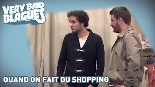 Quand on fait du shopping - Palmashow