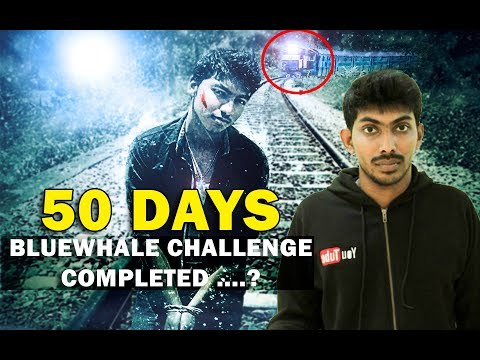 BlueWhale 50 Days Challenge Completed ?