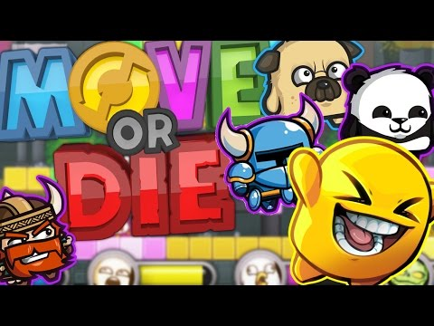 THIS GAME RUINS MORE FRIENDSHIPS THAN MONOPOLY - MOVE OR DIE