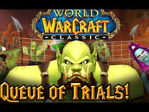 Log-in Queue of Trials! - Gorak's Guide to Classic WoW, Episode 9 (WoW Machinima)