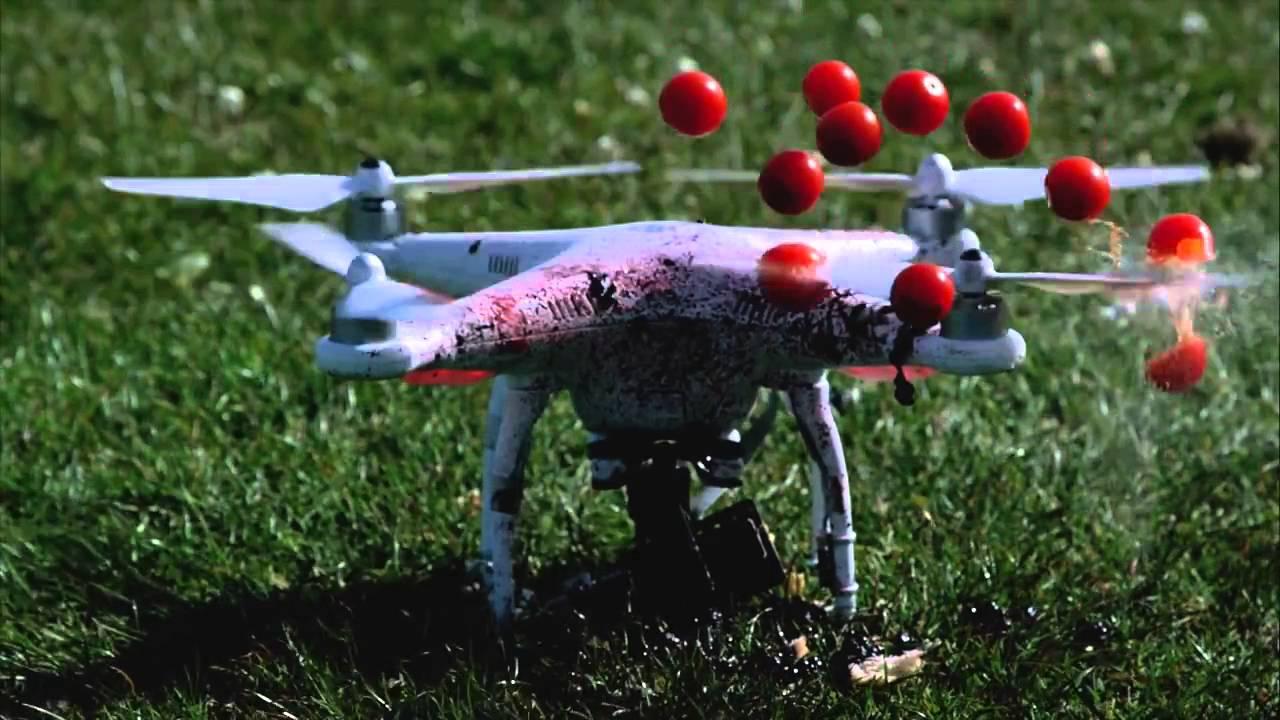 Fruit ninja cut - Drone Blender Dji Phantom 2 Fruit Ninja