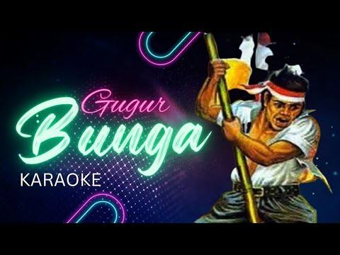 Gugur Bunga (Karaoke + Lirik)