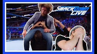 Reaction | KEVIN OWENS & SAMI ZAYN Brutally Assault DANIEL BRYAN | WWE Smackdown Live March 20, 2018