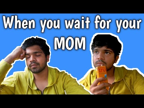 When You Wait For Your Mom (TELUGU) with subtitles || Gopro film