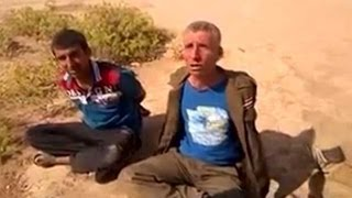 Iraqi soldiers brutally questioned and