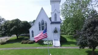 DeKalb County Historical Markers Virtual Tour: Somonauk United Presbyterian Church