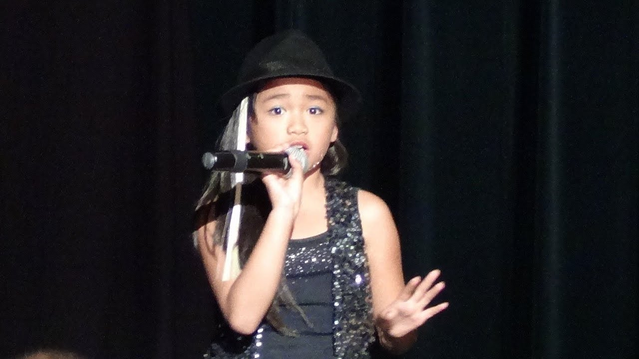 Nayah D 8 Years Old At Talent Show Singing Beyonce Love On