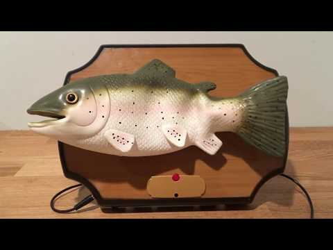 Custom Ted The Talking Trout - Singing Fish