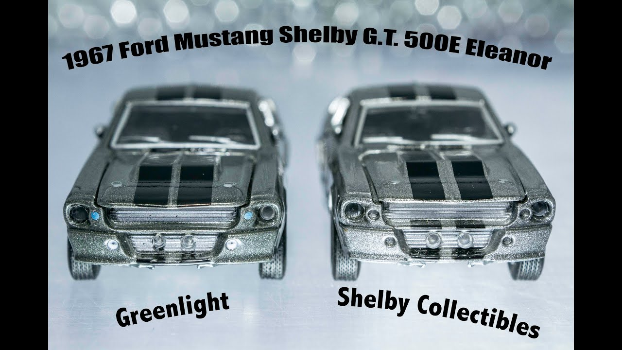 Cracking 1967 Ford Mustang Shelby G T 500e Eleanor