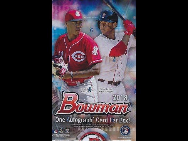 de6606c003d 2018 Bowman Baseball Checklist