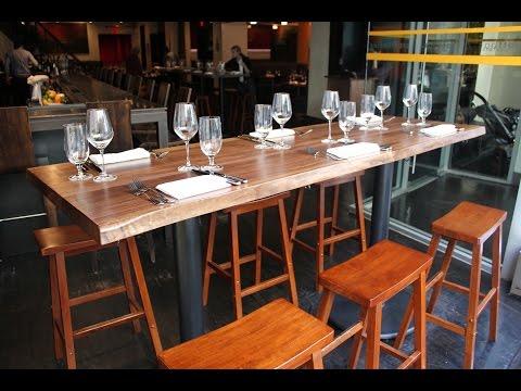 Long Bar Table