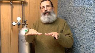 Carbon Dioxide CO2 is Heavier than Air Demonstration
