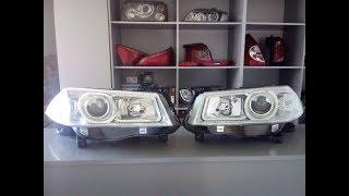 видео Фары Renault Megane 2 и 3 левые и правые: замена, тюнинг и регулировка ламп ближнего света и ПТФ