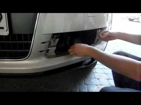 VNSmedia Front Led Lights Drivers Installation and final effect Q7  YouTube