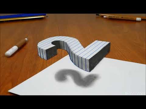 Vẽ tranh 3d bằng bút chì siêu đẹp