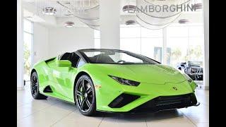 2020 Lamborghini Huracan EVO RWD Spyder Verde Mantis LLA15044