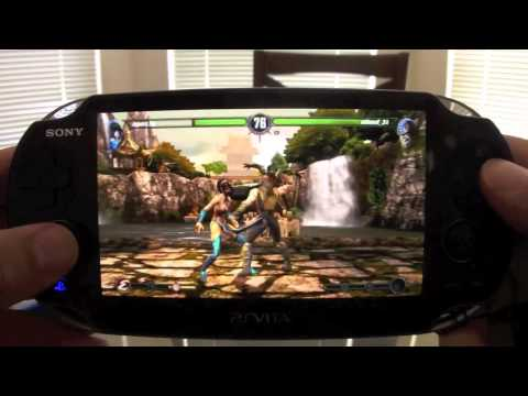 PSVita: Mortal Kombat  Online Multiplayer Hands On