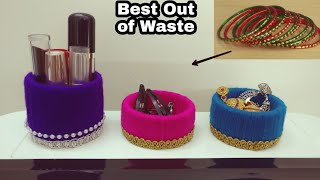 How To Reuse Old Bangles | DIY | Best Out Of Waste