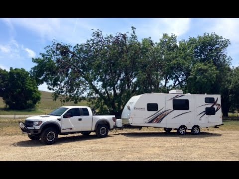 2014 Ford Raptor Towing Capacity >> Ford F150 Raptor Towing Travel Trailer Keystone Passport Gopro