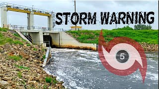 Major Hurricane Sets Florida Spillway Fishing on Fire 🔥