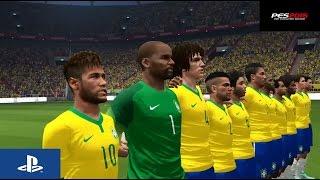 PES 2015 - Turquia vs Brasil -  Full Game Gameplay - Playstation 4(, 2014-11-12T16:18:20.000Z)