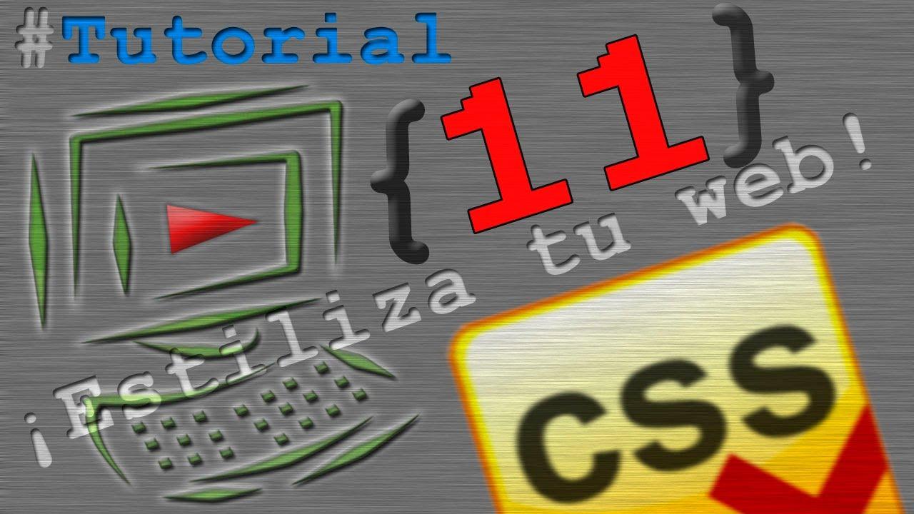 Tutorial #11 CSS y HTML - Color de fondo + Imagen de fondo - YouTube